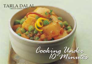 Tarla Dalal Cooking Under 10 Minutes